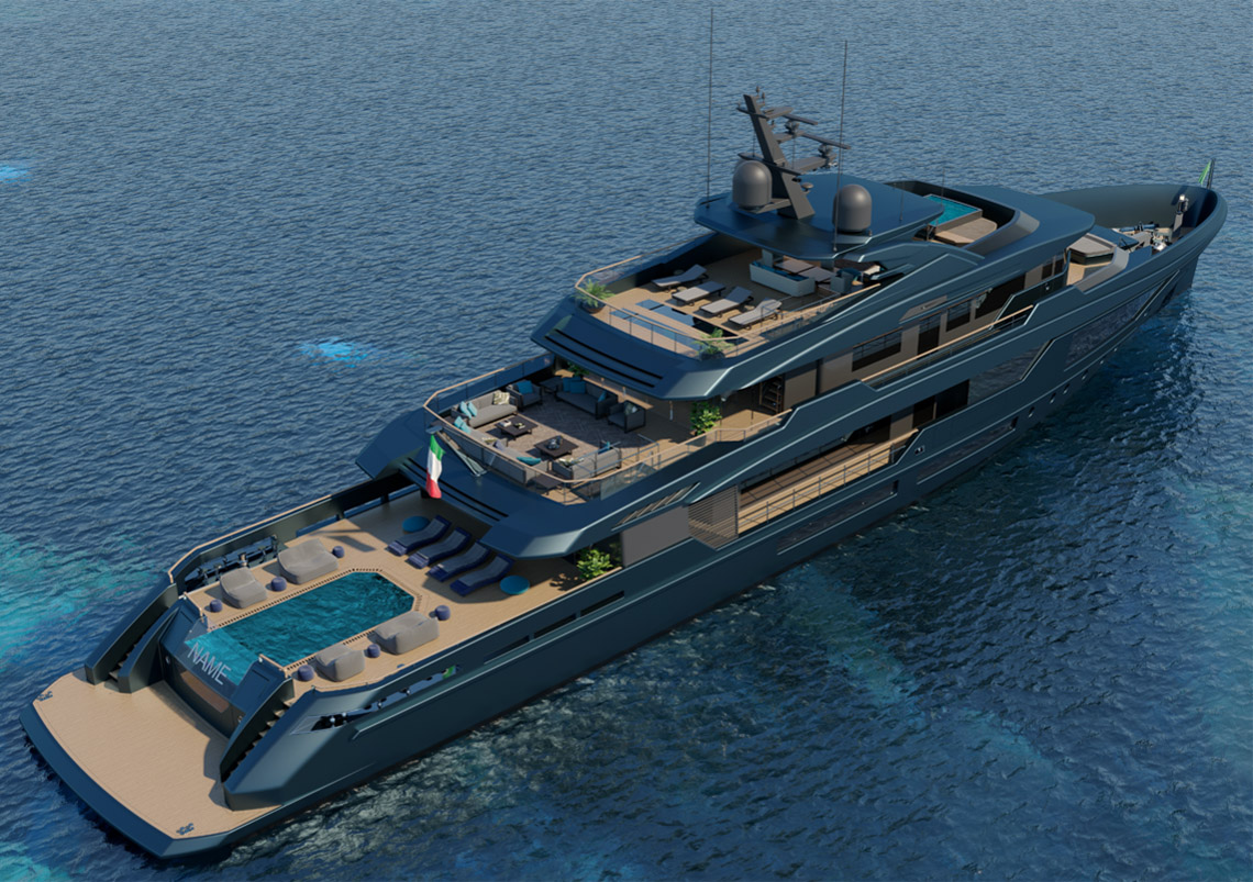Mondomarine Discovery 57m - Luca Dini Design